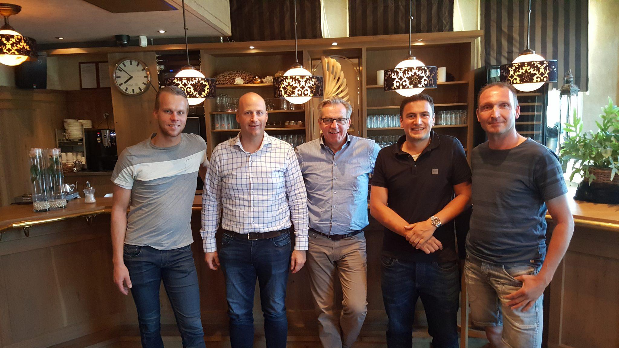 4 Groessense ondernemers nieuwe shirtsponsors eerste elftal