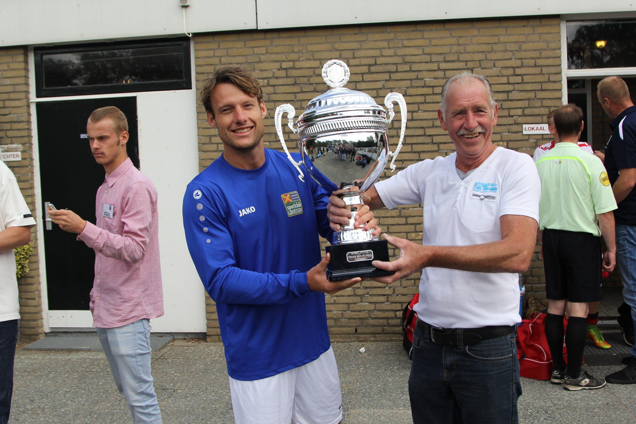 Groessen wint Frans van de Zand toernooi.
