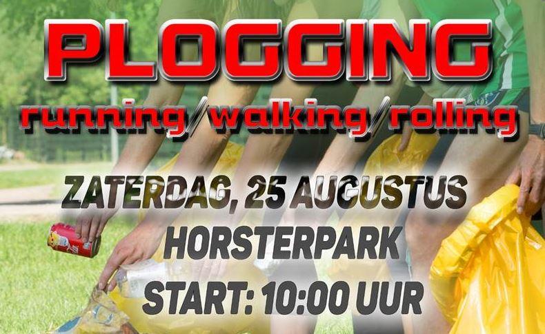 Uitnodiging PLOGGINGRUN 25 augustus