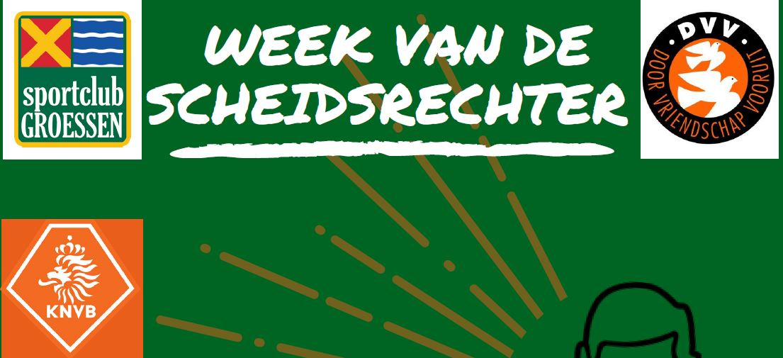 Week van de scheidsrechter --- 6 oktober t/m 14 oktober