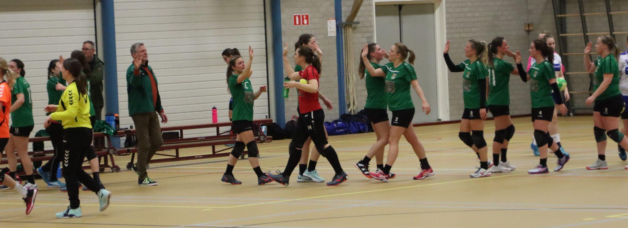 Ruime overwinning dames HCL-1